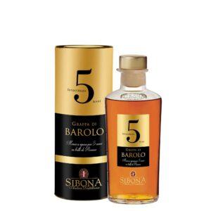 Grappa di Barolo Invecchiata 5 anni Antica Distilleria Sibona