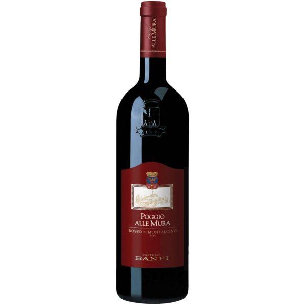 Poggio alle Mura Rosso di Montalcino Castello Banfi 75 cl.