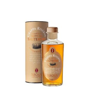 Grappa Riserva Affinata in Botti da Sauternes Antica Distilleria Sibona